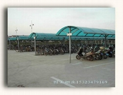 high quality folding iron carport