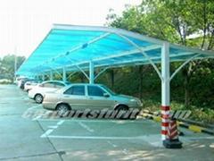 steel tube carports