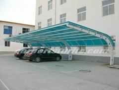 pvc roof carport