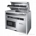 Integral environmental-protection cooker