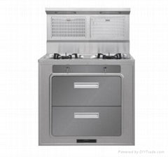 Integral environmental-protection cooker,stoves gas cookers