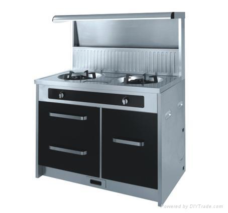 Environmental integrated kitchen,kitchen appliance,gas cooker 1