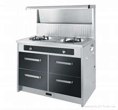 Integral environmental-protection cooker,home appliance,kitchen appliance