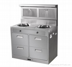 Integral environmental-protection cooker,burners gas stove