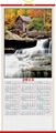 cane wall scroll calendar 1