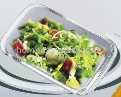 Pyrex Rectangular glass food storage set for kitchenware  2