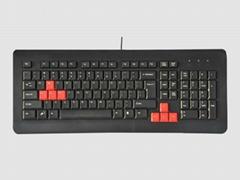 游戏键盘豪华键盘防水防暴防辐射