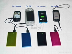 Power Bank for Mobile Phone, Digital Camera, PSP