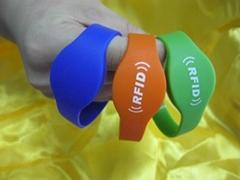 Hot RFID Silicon Wristband