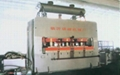 rapid facing veneer hot press machine