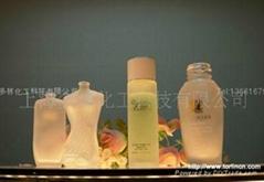 化妆品瓶玻璃蒙砂粉