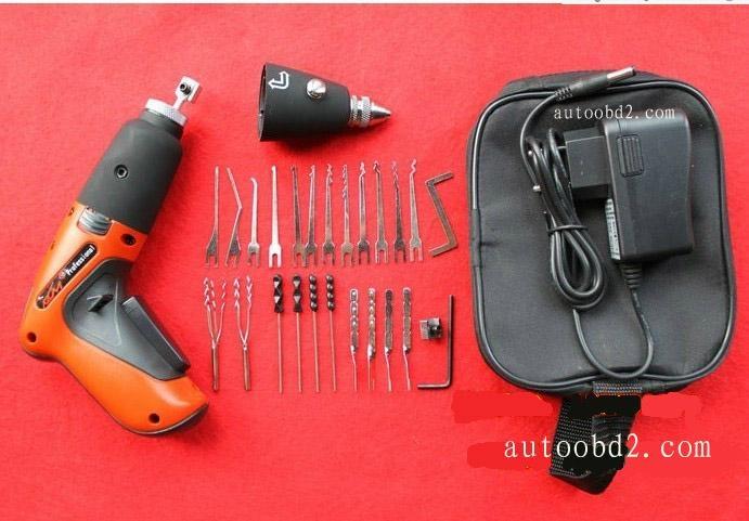 Good Cordless Electric Pick Gun OBD2 car locksmith tool