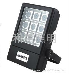 和惠LED方形投光燈 2