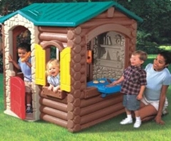 children plastic house