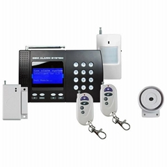 CWT5020 Home GSM alarm system with LCD menu