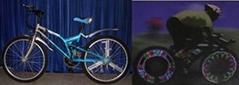LED litespoke miraspoke bike safety light LS15