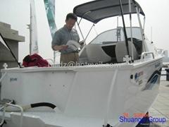FRP yacht