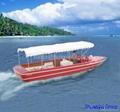 FRP yacht (tourist boat, pedalo,