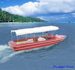 FRP yacht (tourist boat, pedalo, vaporetto, speed boat)
