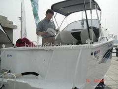 tourist boat (yacht, pedalo, pleasure boat, vaporetto)