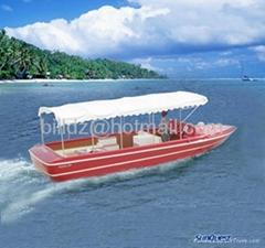 FRP tourist boat(yacht, pedalo, vaporetto, speed boat)