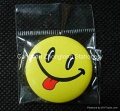 Metal Button Badge