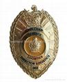 Custom Metal Badge, Made of Zinc alloy