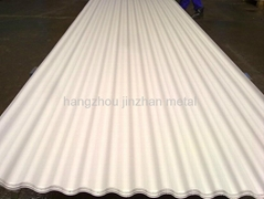 ECO SAFE colored /galvanized corrugated roofing steel sheet