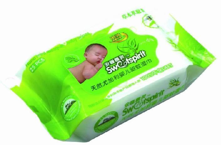 Antimosquito baby wipes  1