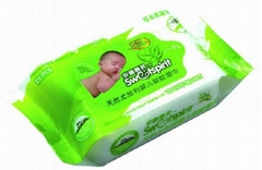Antimosquito baby wipes