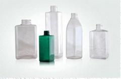 PET  squre bottle