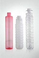 PET   powdered carbon bottle