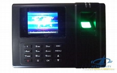 Color Screen Biometric Fingerprint Time Attendance System