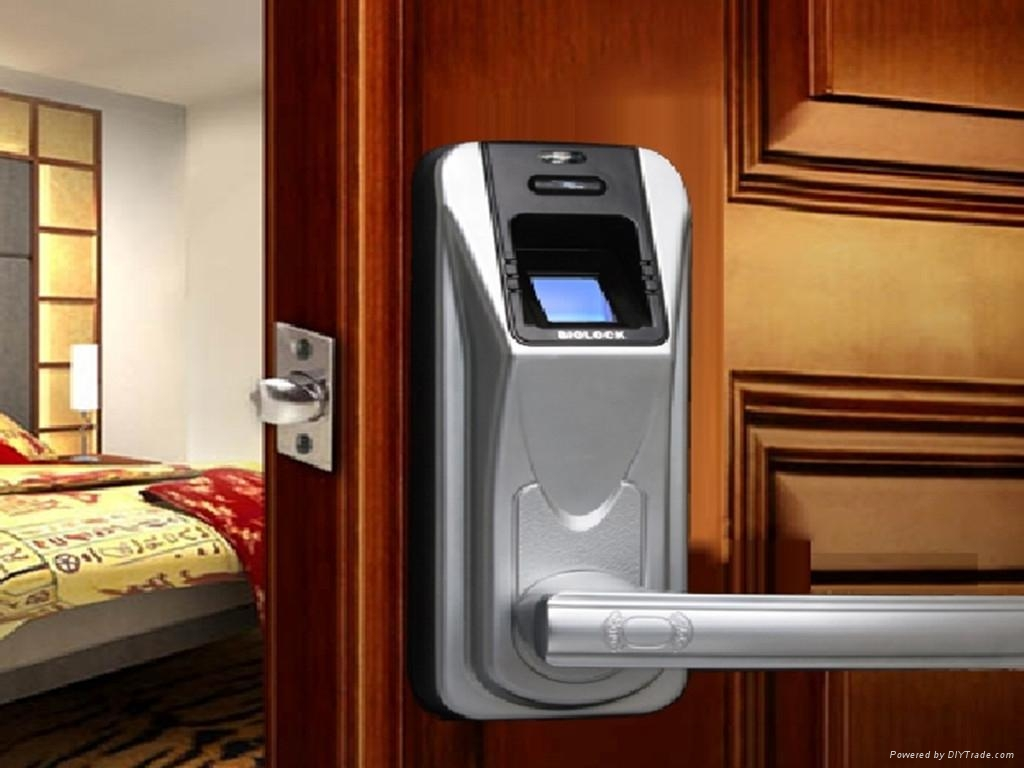 Remote control function biometric fingerprint door locks for 1 touch fingerprint door lock