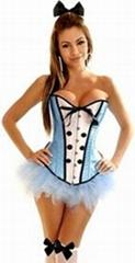 Sexy Alice Costume Strap