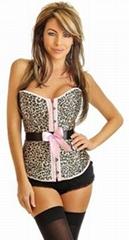 Burlesque Leopard Belted