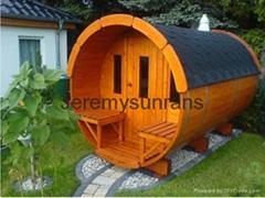 (New design) Barrel steam sauna room SR158