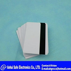 Blank Mag Strip Inkjet PVC ID Cards, Double Sided Printing