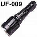 UltraFire UF009 4-Mode Dual CREE LED Recoil Flashlight