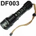 TrustFire TR-DF003 3*CREE XM-L T6 LED 5-mode 3000LM Diving Flashlight Torch