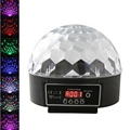 6 Channel Control Digital LED RGB Crystal Magic Ball Effect Stage Light