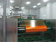 PVC/PVDC film for solid medicine pack