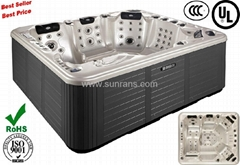2012NEW design sex massage hot tub SR829