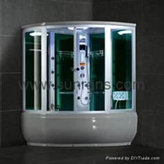 Sexy Touch Screen Control Steam Shower Room