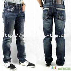 Men's 100%Cotton Authentic Style Jeans