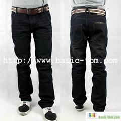 New Style Men's High Class Raw Denim Jean