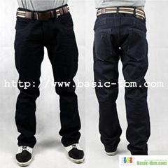 Good Denim 100%Cotton New Style Men's High Class Jeans