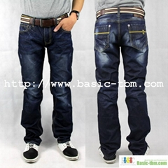 New Style Men's Cotton High Class Design Jean