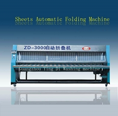 sheets automatic folding machine