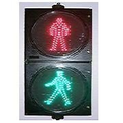waterproof red green 300mm pedestrian traffic led light